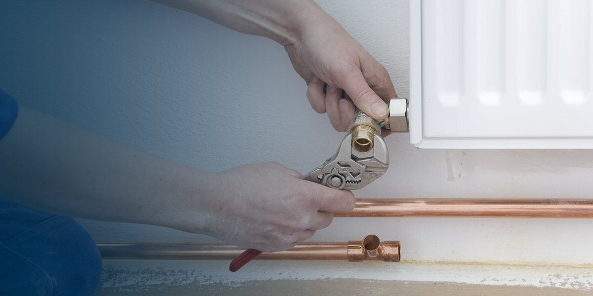 central and heating plumbing services