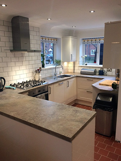 kitchen renovation and fitting